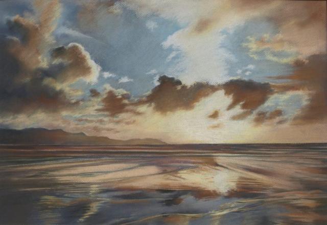 Hawkes Bay sunset - pastel