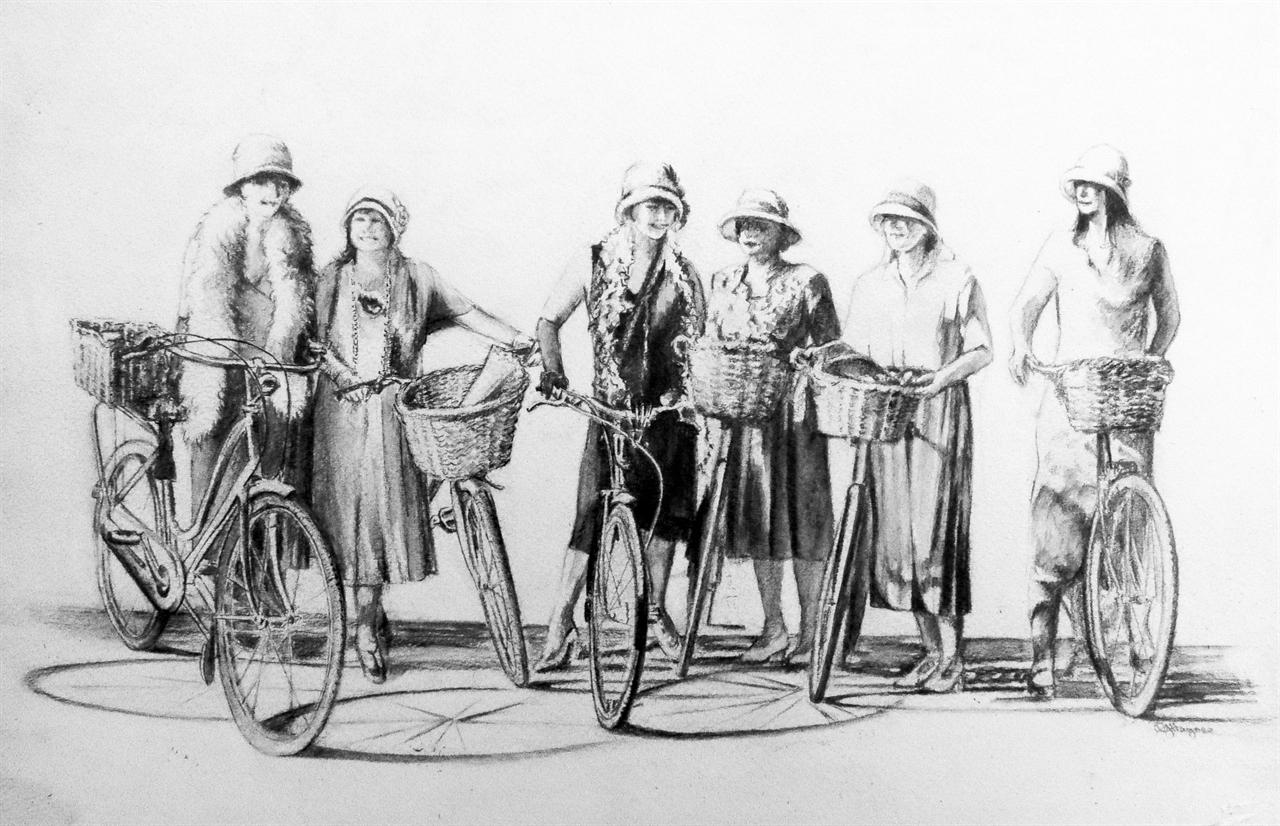 Bicycle belles
