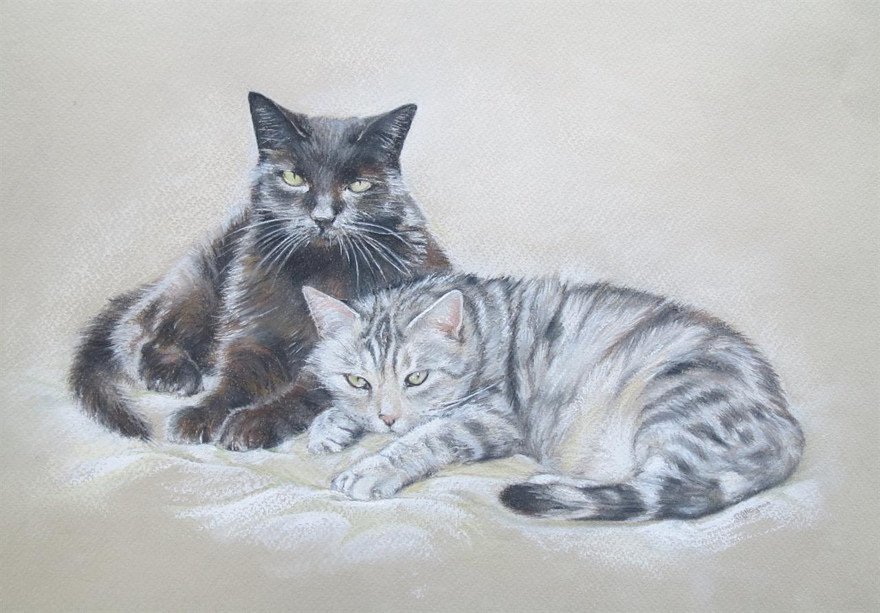 Max and Chloe - Pastel