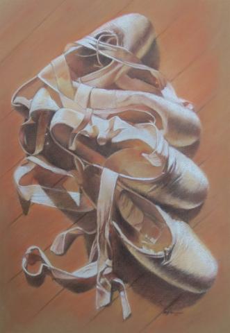 Ballet Shoes- pastel